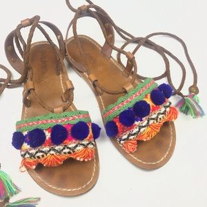 Anthropologie DVLpmnt + Sandals